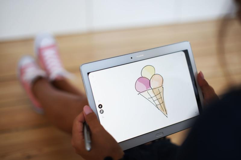 Huawei Media Pad M2 Media Pad Icecream Eis Kugel Media Pen Huawei