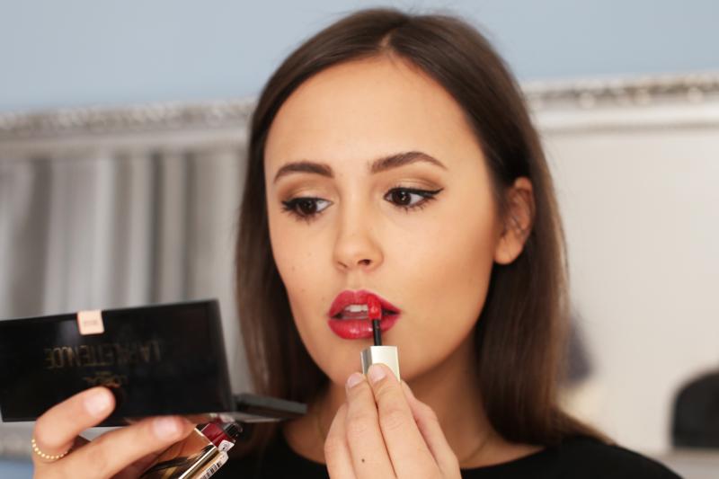 lipgloss richtig auftragen