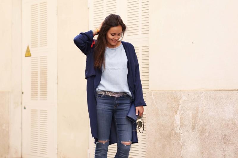 Blue jeans und babouches