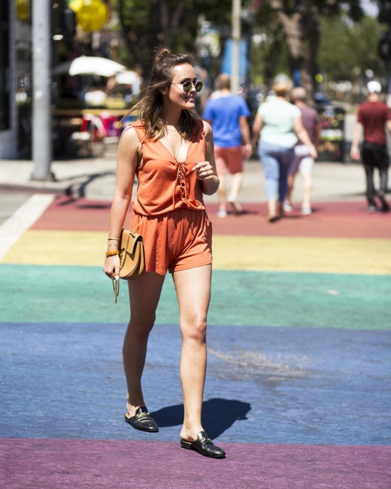rainbow walk LA