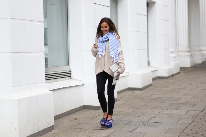 blaue heels