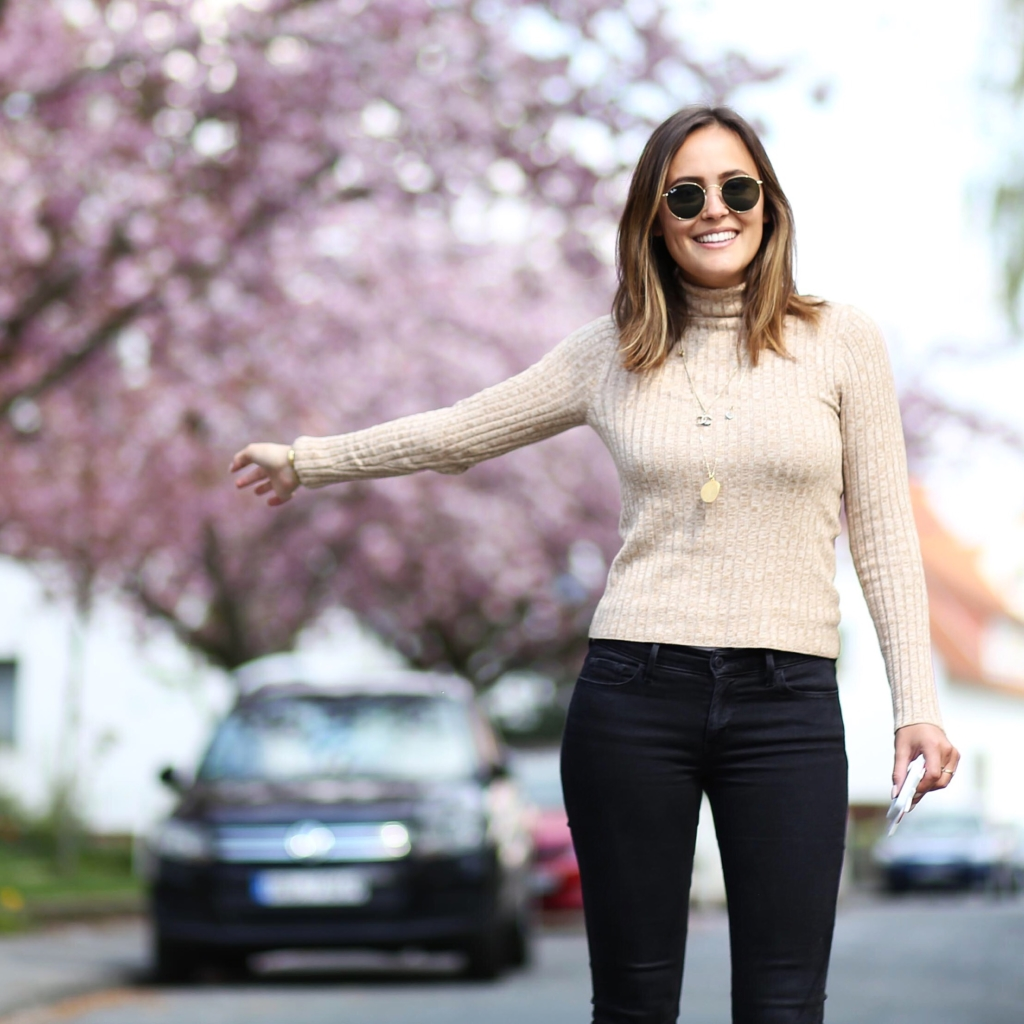 Rollkragen Pullover, Strickpullover, Knit, Skinny Jeans, Herbst Look, Herbst Must Haves