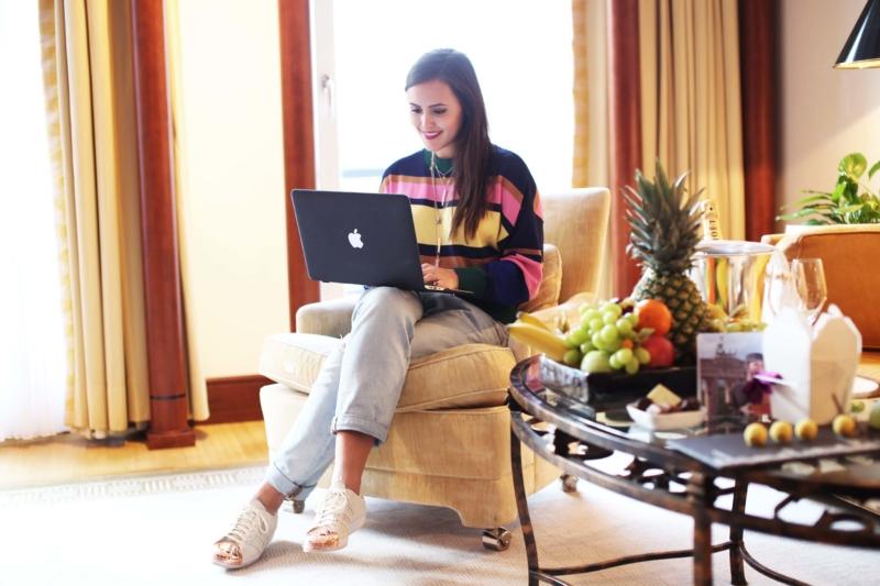 Bloggen vom Hotelzimmer aus