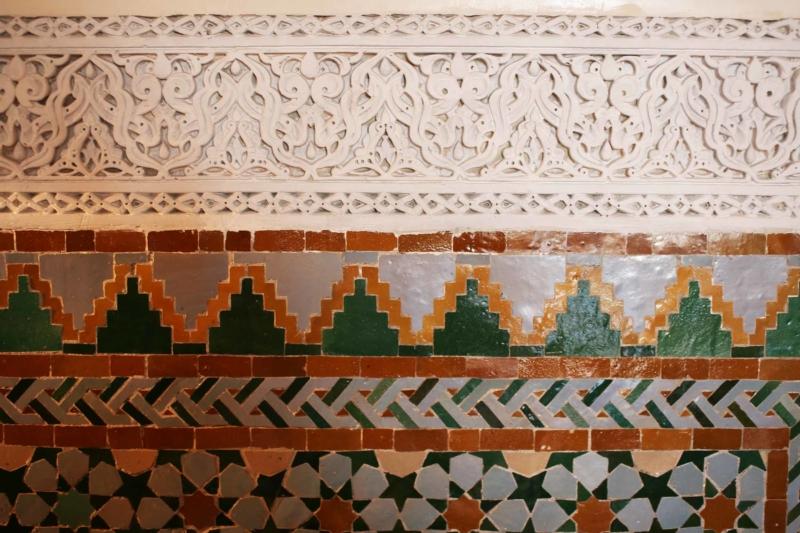 HOTEL LA MAMOUNIA, MARRAKECH, arabische Ornamente