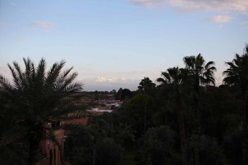 Ausblick vom Hotel la Mamounia