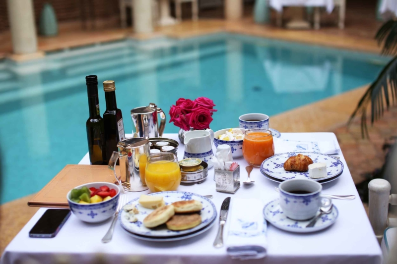 frühstück in marrakech